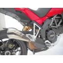 Silenziatore Zard v2 titanio racing per Ducati multistrada 1200