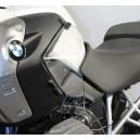 Spoiler deflettori superiori Isotta per BMW R1200 GS trasparenti
